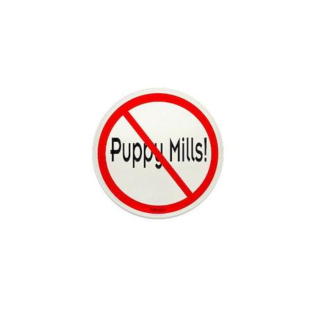 No Puppy Mills Mini Button (10 pack)