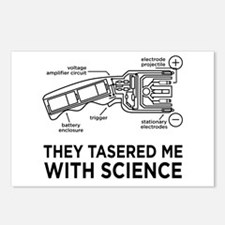 They Tasered Me With Science Postcards (Package of