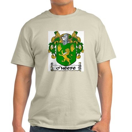 O'Keefe Coat of Arms Light T-Shirt