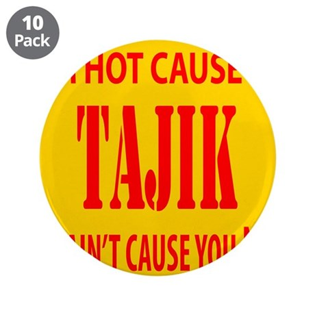 "Hot Tajik 3.5"" Button (10 pack)"