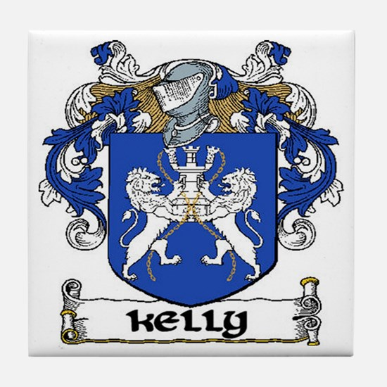Kelly Coat of Arms Ceramic Tile