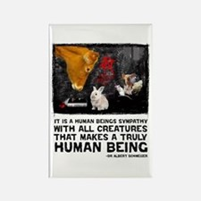 Animal Liberation -Schweizer Rectangle Magnet