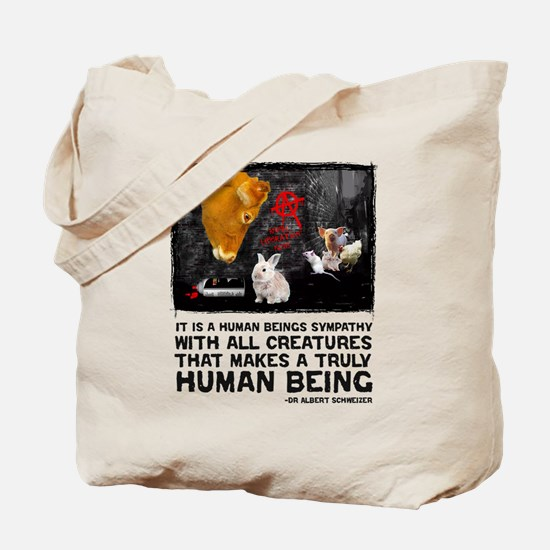 Animal Liberation -Schweizer Tote Bag