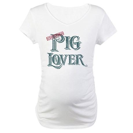 Pig Lover Maternity T-Shirt