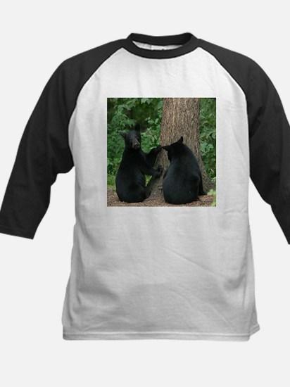 black bears Kids Baseball Jersey