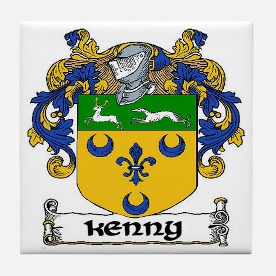 Kenny Coat of Arms Ceramic Tile