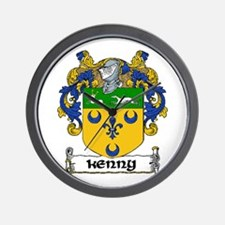 Kenny Coat of Arms Wall Clock