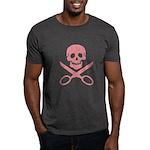 Pink Jolly Cropper Dark T-Shirt