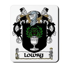 Lowry Coat of Arms Mousepad