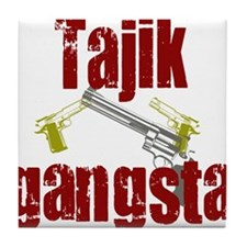tajik gangster Tile Coaster