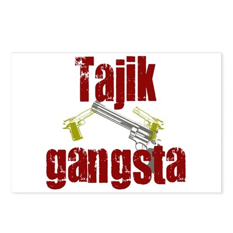 tajik gangster Postcards (Package of 8)