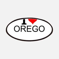 I Love Oregon Patch