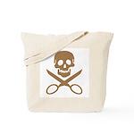 Mocha Jolly Cropper Tote Bag