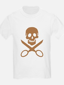 Mocha Jolly Cropper T-Shirt