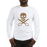 Mocha Jolly Cropper Long Sleeve T-Shirt