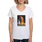 Fairies / GSMD Women's V-Neck T-Shirt