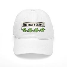 Give Peas A Chance Baseball Cap