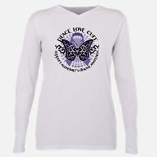 Cute Support alzheimer disease awareness month memories Plus Size Long Sleeve Tee