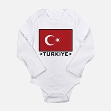 Flag of Turkiye Body Suit