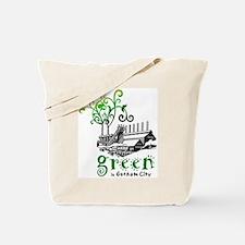 Green In Gotham Tote Bag