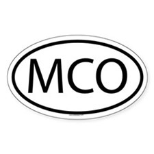 MCO Oval Decal