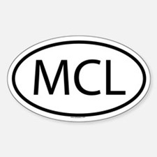 MCL Oval Decal