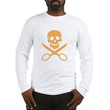 Orange Jolly Cropper Long Sleeve T-Shirt