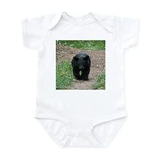 black bear cub Infant Bodysuit