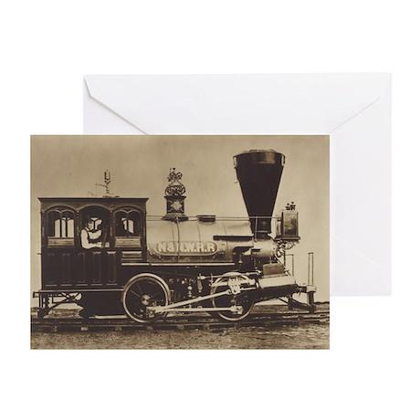 Nashville & Northwestern Locomotive Greeting Cards