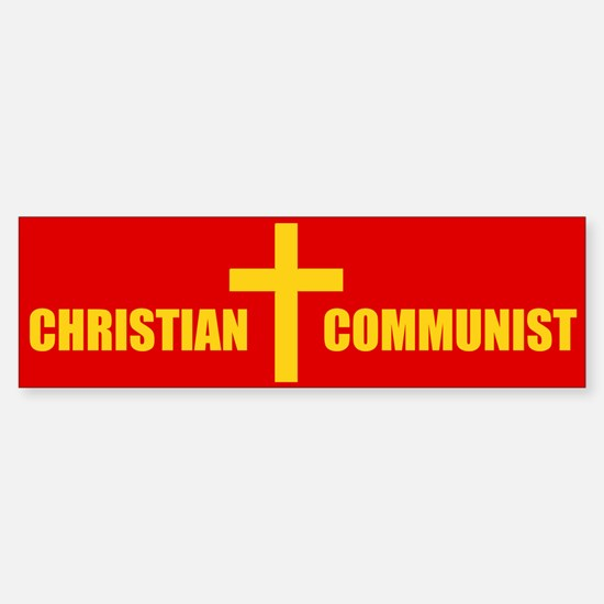Christian Communist Bumper Bumper Bumper Sticker