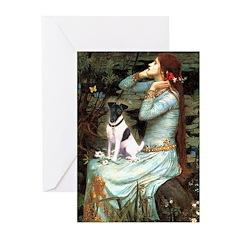 Ophelia / Fox T Greeting Cards (Pk of 10)