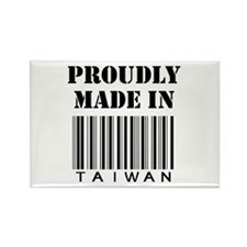 made in Taiwan Rectangle Magnet