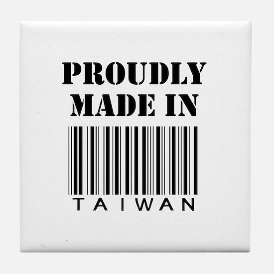 made in Taiwan Tile Coaster