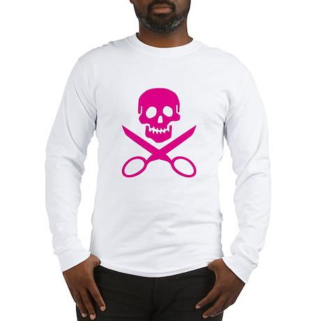 Fuchsia Jolly Cropper Long Sleeve T-Shirt