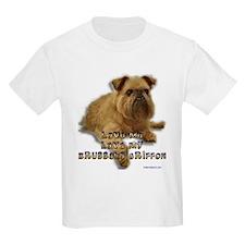 Love My Brussels Griffon Kids T-Shirt