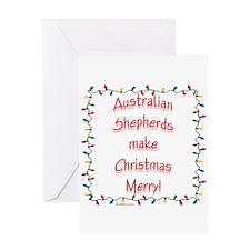 Aussie Merry Greeting Card