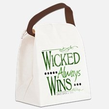 Wicked Always Wins Canvas Lunch Bag