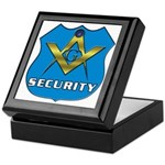 Masonic Security Guard Keepsake Box