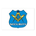 Masonic Security Guard Postcards (Package of 8)