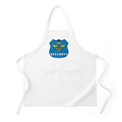 Masonic Security Guard BBQ Apron