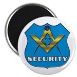 Masonic Security Guard Magnet