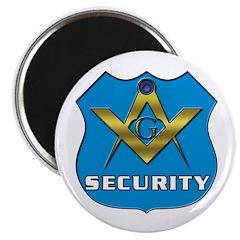 Masonic Security Guard Magnet