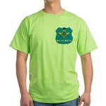 Masonic Security Guard Green T-Shirt