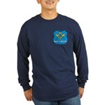 Masonic Security Guard Long Sleeve Dark T-Shirt