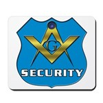 Masonic Security Guard Mousepad