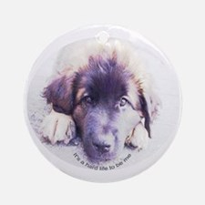 Leonberger Keepsake (Round)