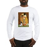 Kiss / Fox Terrier Long Sleeve T-Shirt