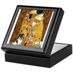 Kiss / Fox Terrier Keepsake Box