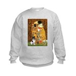 Kiss / Fox Terrier Kids Sweatshirt