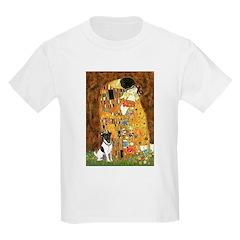 Kiss / Fox Terrier Kids Light T-Shirt